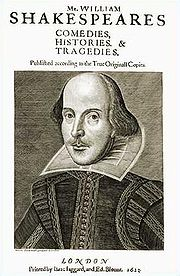 William Shakespeare (baptised 26 April 1564 – died 23 April 1616)