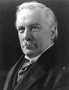 David Lloyd George, 1st Earl Lloyd-George of Dwyfor (17 January 1863 – 26 March 1945)