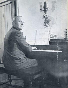TRUMAN AT PIANO
