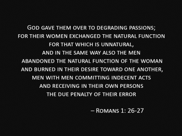 romans 1_26 and 27