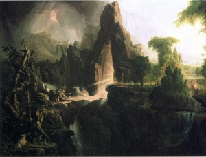 Expulsion from the Garden of Eden, c. 1840. Thomas Cole. Museum of Fine Arts, Boston