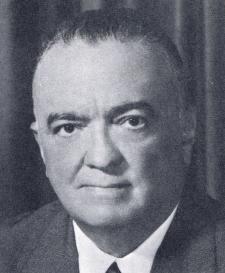 J. Edgar Hoover Director Federal Bureau of Investigation
