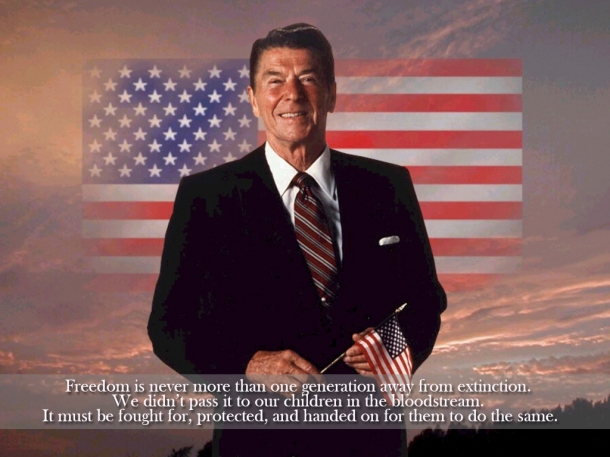 REAGAN AND FREEDOM