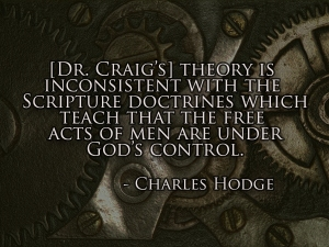 FREE ACTS UNDER GOD'S CONTROL