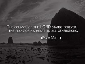 psalm 33-11